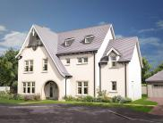 5 bed new house for sale in Woodilee Road, Lenzie...