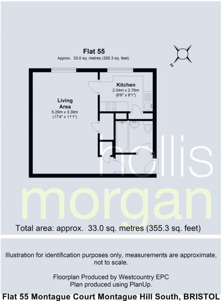 Flat 55 Montague Cou