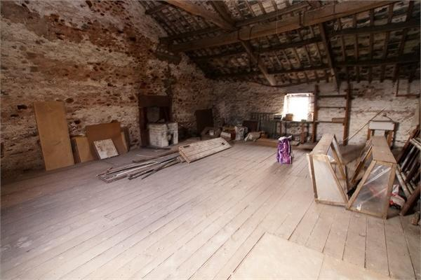 First Floor of Barn