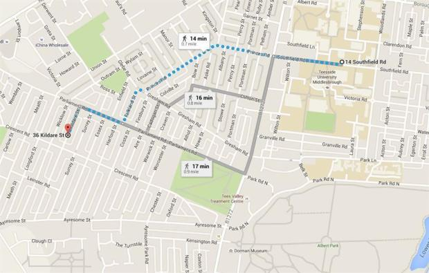 TS1 Map
