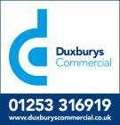 Duxburys Commercial, Blackpoolbranch details