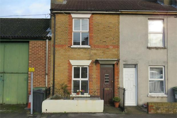 2 Bedroom End Of Terrace House For Sale In Brunswick Street MAIDSTONE Kent