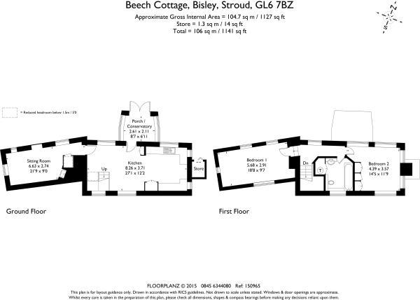 Beech Cottage 150965  fp