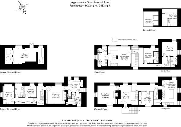 Washbrook Farm 168424 fp-A4 Landscape Farmhouse