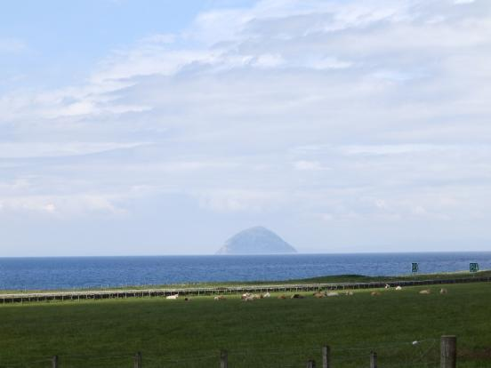 View to Ailsa Craig