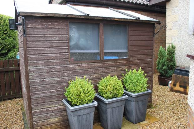 Garden Shed to Rear
