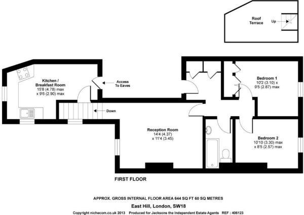 Floorplan 3, 85 East