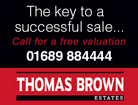Get brand editions for Thomas Brown Estate Agents, Orpington