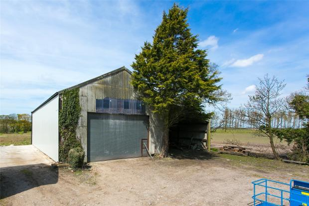 Outbuilding To Barn