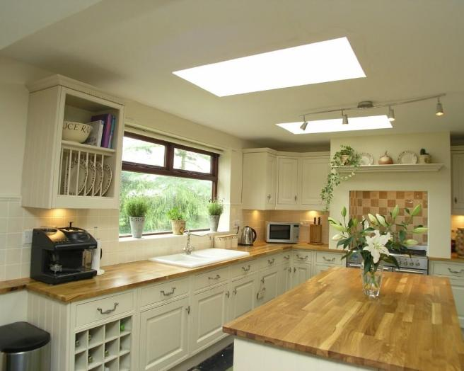 gray kitchen walls with cream cabinets - kitchen: exciting u shape ...
