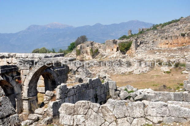 Nearby Tlos Ruins