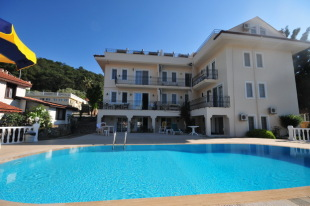 Ground Maisonette for sale in Mugla, Fethiye, Hisaronu
