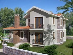 4 bed Detached Villa in Mugla, Fethiye, �z�ml�