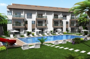 2 bed new development in Mugla, Fethiye, Hisaronu