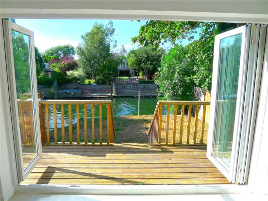 View Deck and River