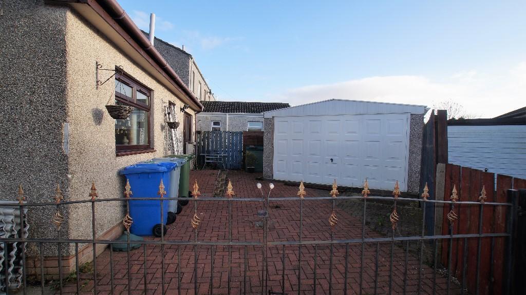 Rear entrance/garage