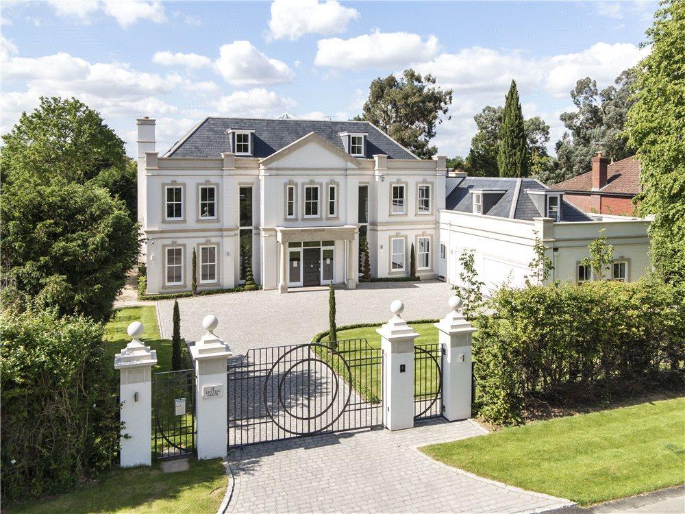 7 bedroom detached house for sale in leys road oxshott for Modern houses for sale uk