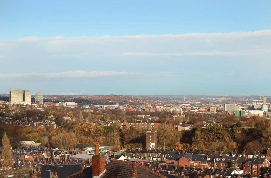 View Over Sheffield