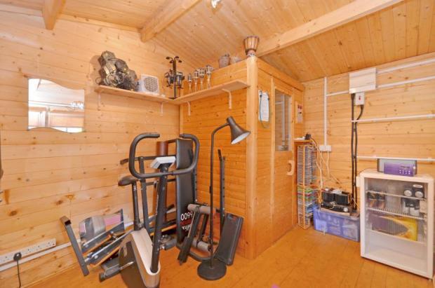 Gym and Sauna