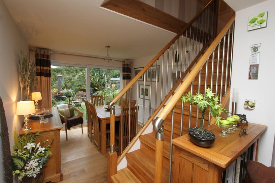 Stairs/Dinning Room