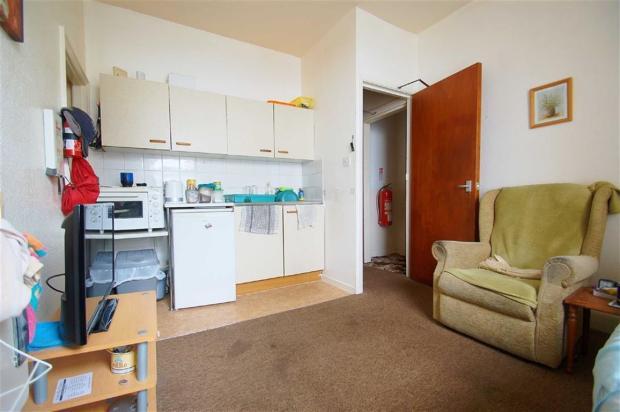 Lounge/Kitchen/Bedro