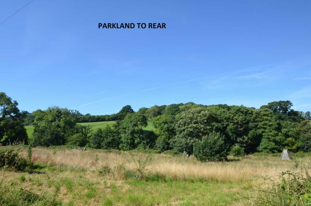 Parkland to rear