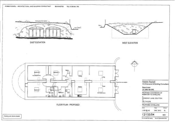 Floor Plan Proposed