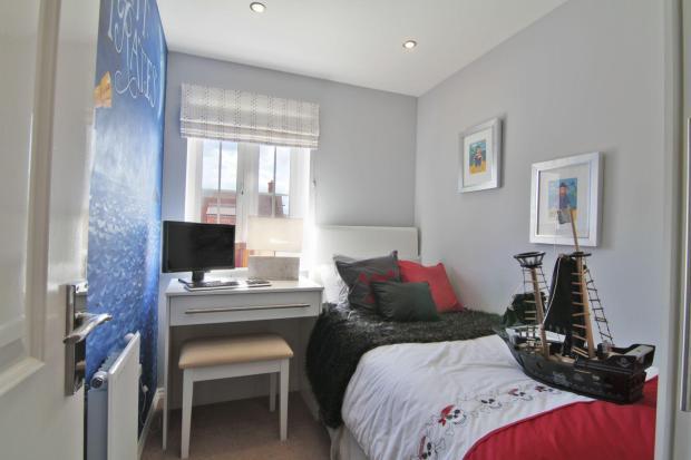 Typical Regis third bedroom
