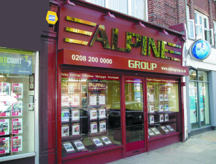 Alpine, Colindale, London branch details