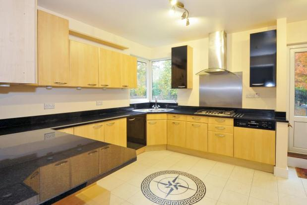 Very well appointed kitchen