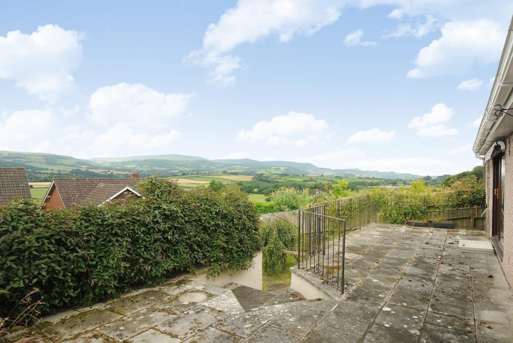 Far reaching views across the Wye Valley