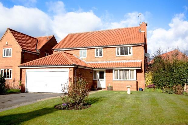4 bedroom detached house for sale in 4 chapel close helmsley york yo62 5be yo62