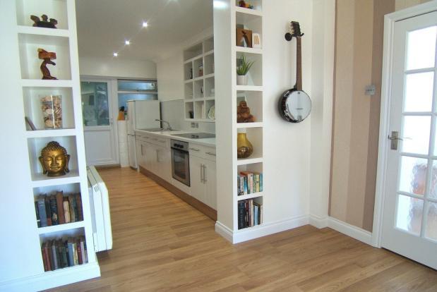 Open to kitchen