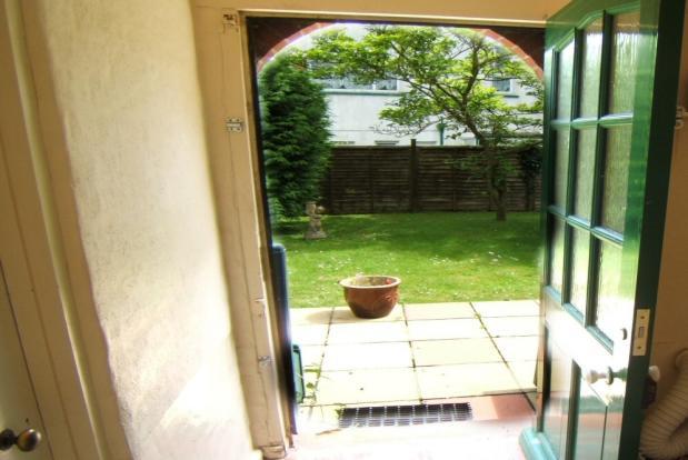 Backdoor to garden