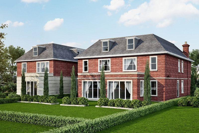 Lusso Homes,Rear Elevation