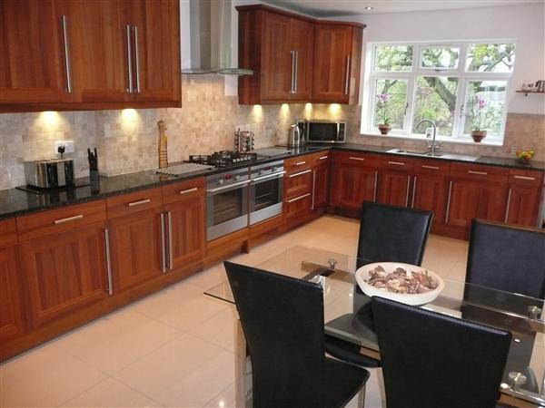 KITCHEN WITH DINING&LIVING AREA