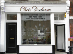 Chris Dedman, Londonbranch details