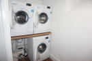Communal laundry ...