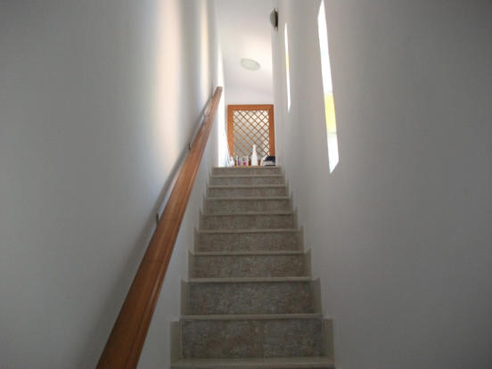 boxed in stairs