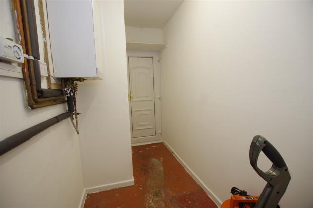 rear hall /utility