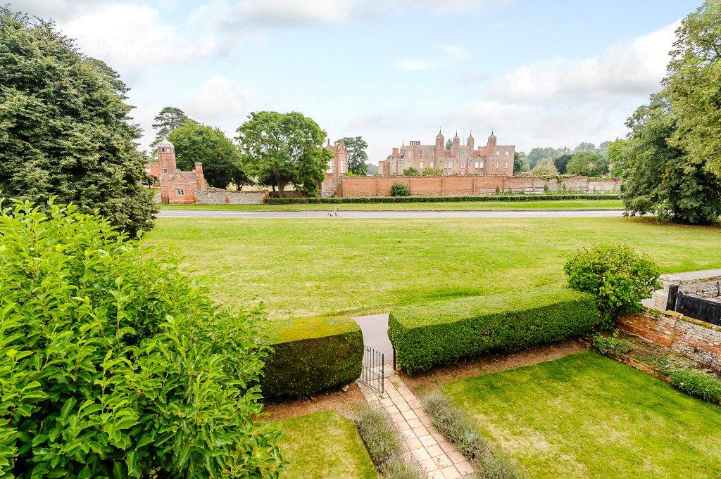 View To Melford Hall