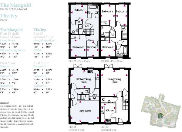 The Ivy Floorplan