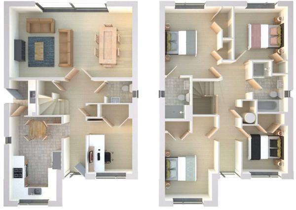 Dadant Floor Plan