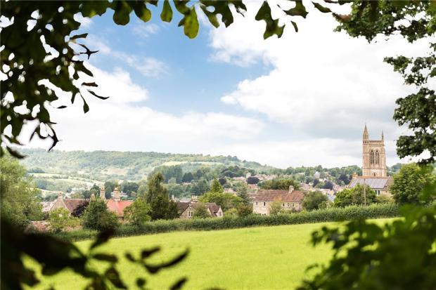 Rural View Of Church