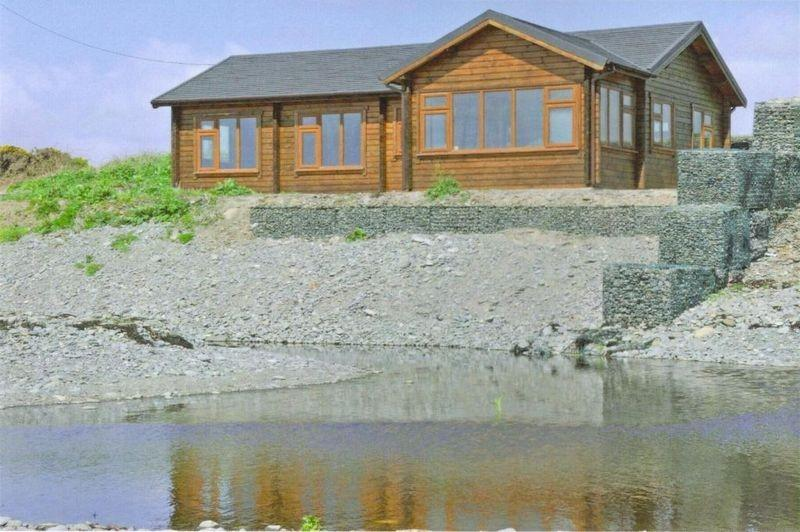 2 bedroom log cabin for sale in auchenmalg dg8 dg8 for 2 bedroom log cabins for sale