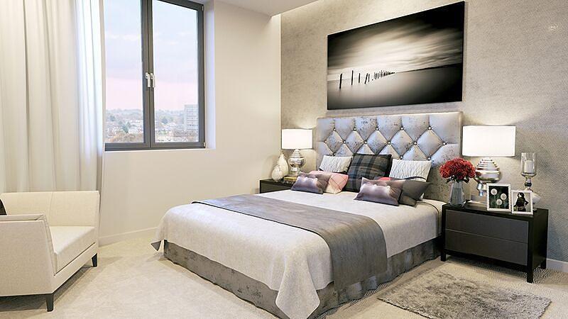 Bedroom - CGI Image
