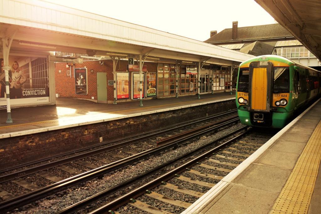 Sutton train station