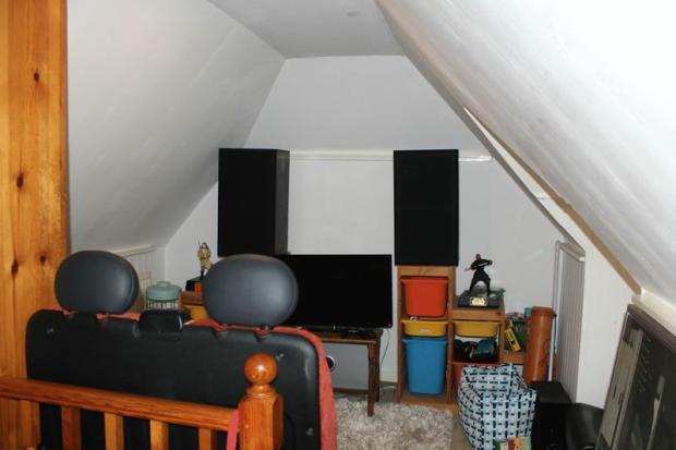 attic landing