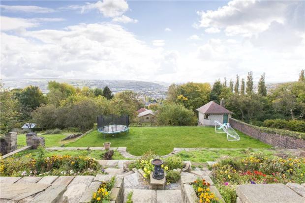 Rear Garden & View 1
