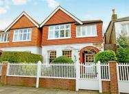 semi detached house in Ramillies Road, Chiswick